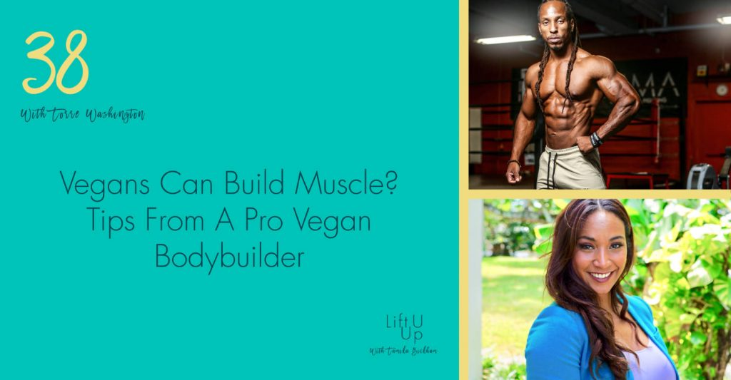 Pro Vegan Bodybuilder