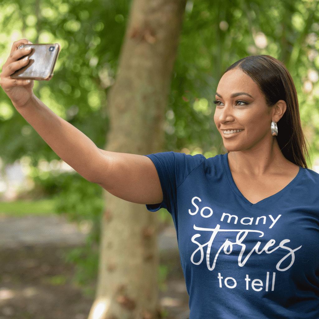 Tamika Bickham Selfie
