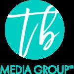 TB Media Group Logo White