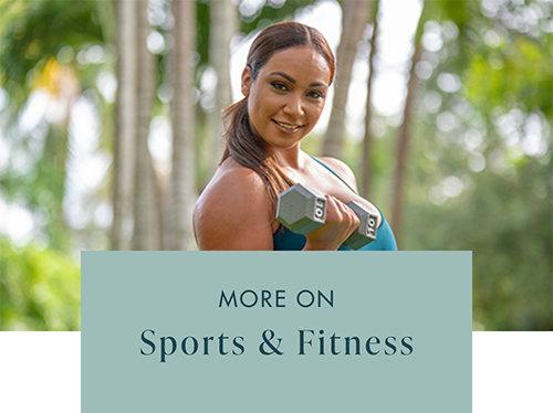 Sports and Fitness Headline